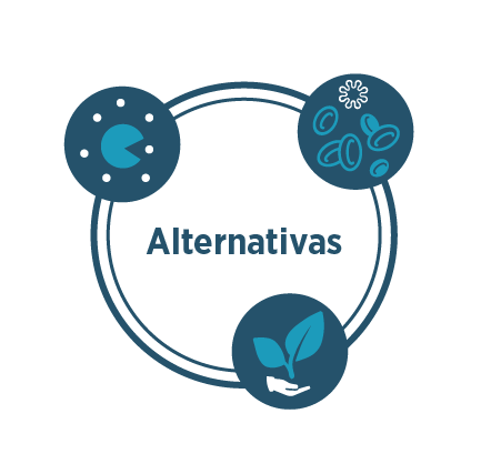 alternativas a los antibioticos
